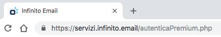 Visualizzazione su Chrome